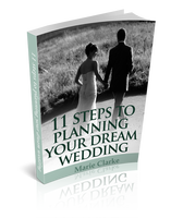 Free ebook - 11 steps to planning your dream wedding